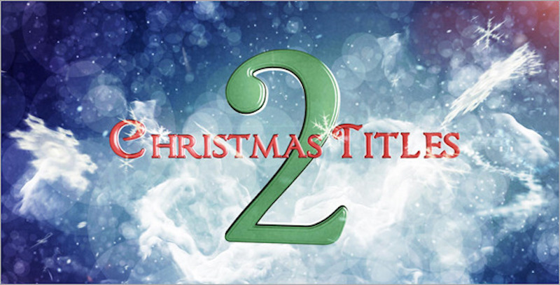 Christmas Titles 2 – After Effects Template