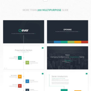Ever – Multipurpose Presentation Template Powerpoint
