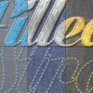 Realistic Embroidery – Photoshop Actions