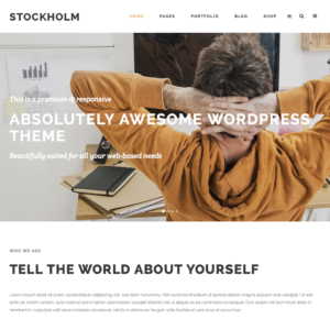 Stockholm – A Genuinely Multi-Concept Theme WordPress