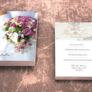 Wedding Photographer Business Card v1 – Photoshop PSD Template – Instant Download