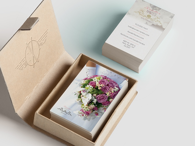 wedding photographer business card v1
