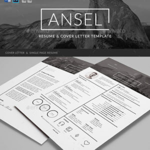 Ansel – Resume and Cover Letter Template