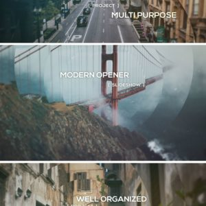 Modern Opener – Slideshow – After Effects Template