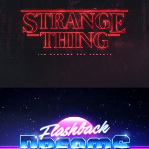 80s Text Effects – Add-on for Photoshop