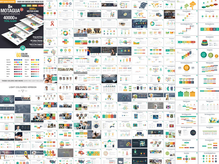 40,000+ Slides - Best PowerPoint and Keynote Presentation Templates
