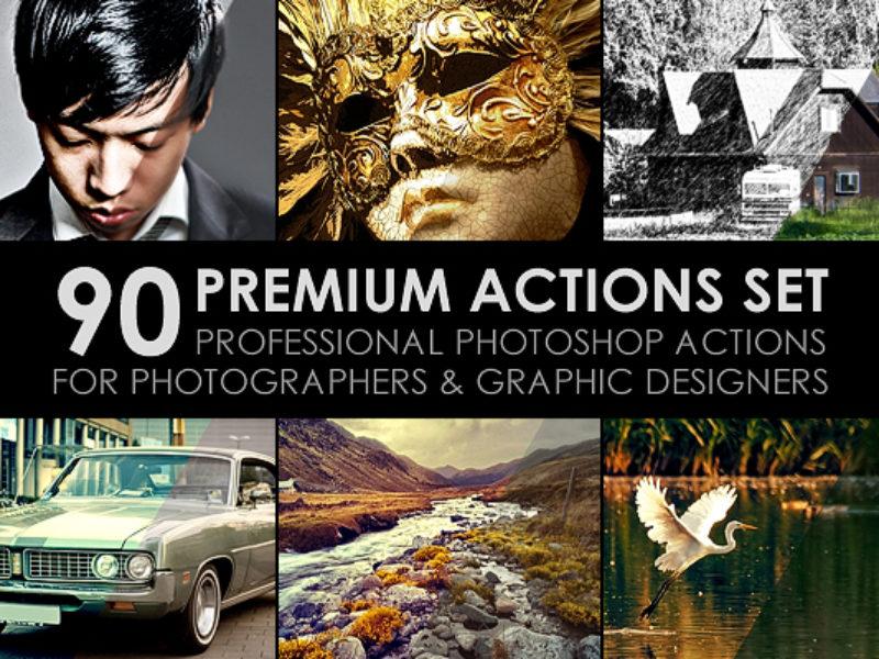 90_Premium_Actions_Set