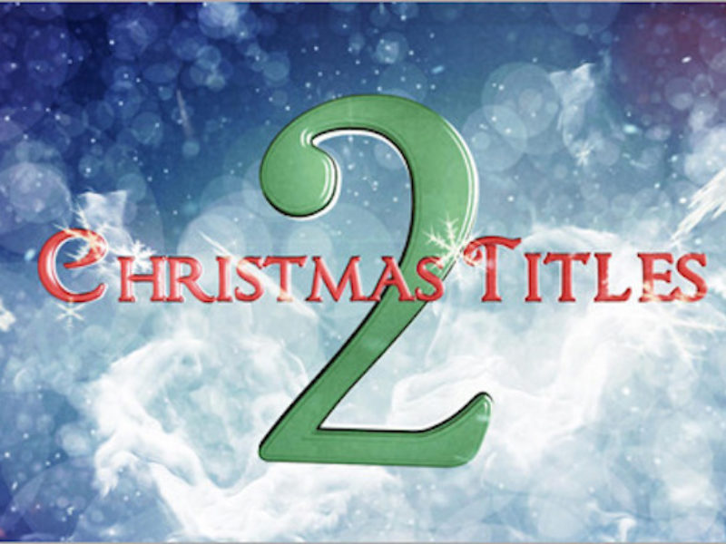 Christmas Titles 2 - After Effects Template