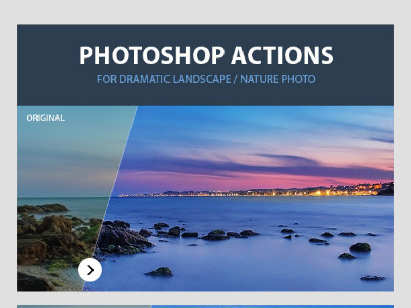Dramatic Landscape Photoshop Actions2