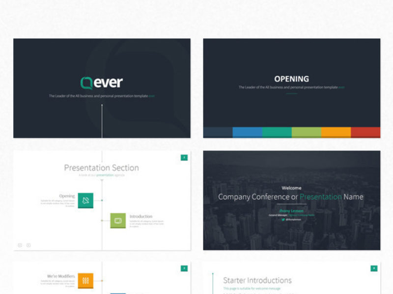 Ever - Multipurpose Presentation Template Powerpoint2