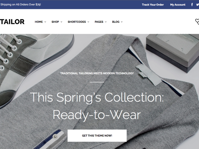 Mr. Tailor - Retina Responsive WooCommerce Theme2