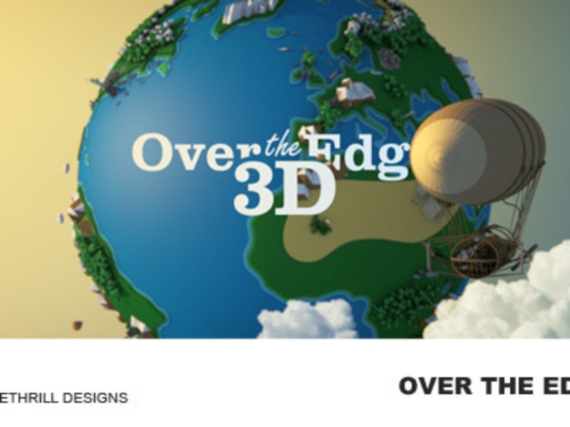 Over The Edge - 3D