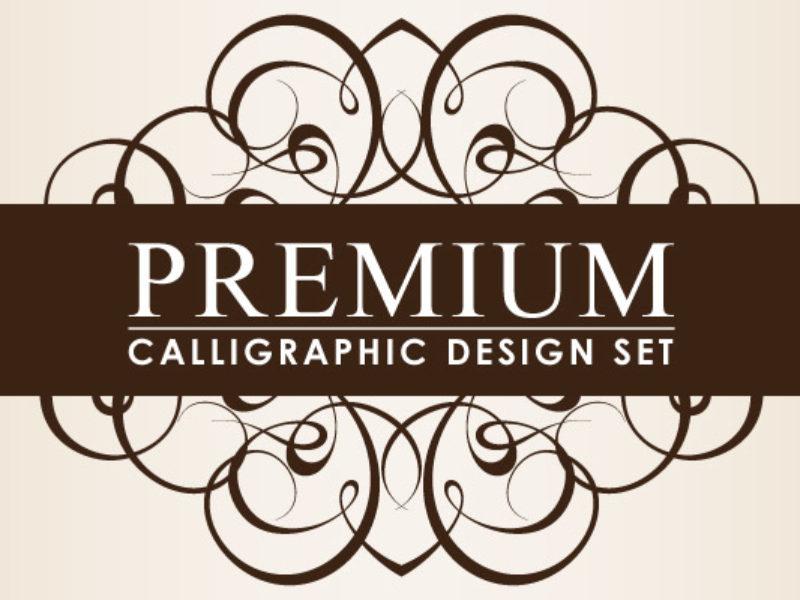 Premium-Calligraphic-Design-Set