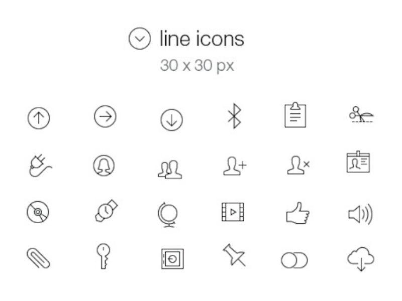 Tab Bar Icons iOS 7 Vol5-main