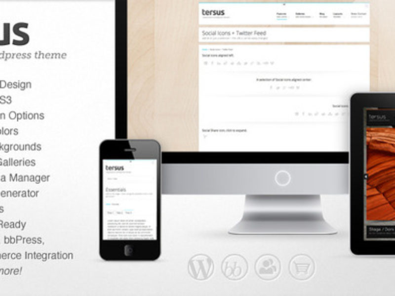 Tersus - Responsive WordPress Theme