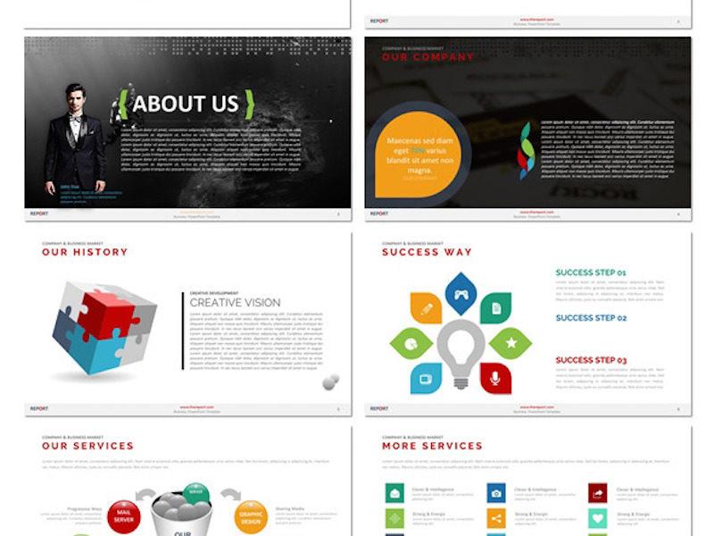 The Report - Presentation Template2