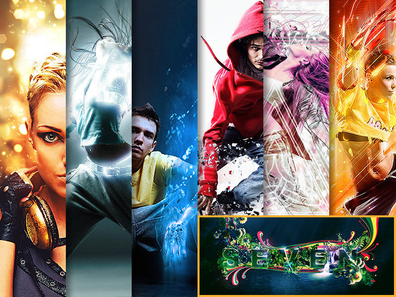 Photo Effects Photoshop Actions By Visionary Designer SevenStyles