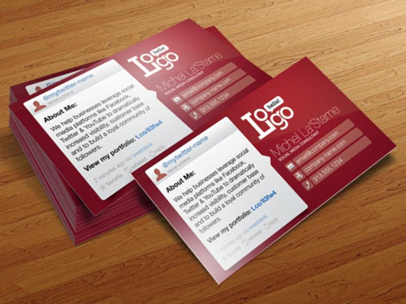 port_social_media_business_card_free