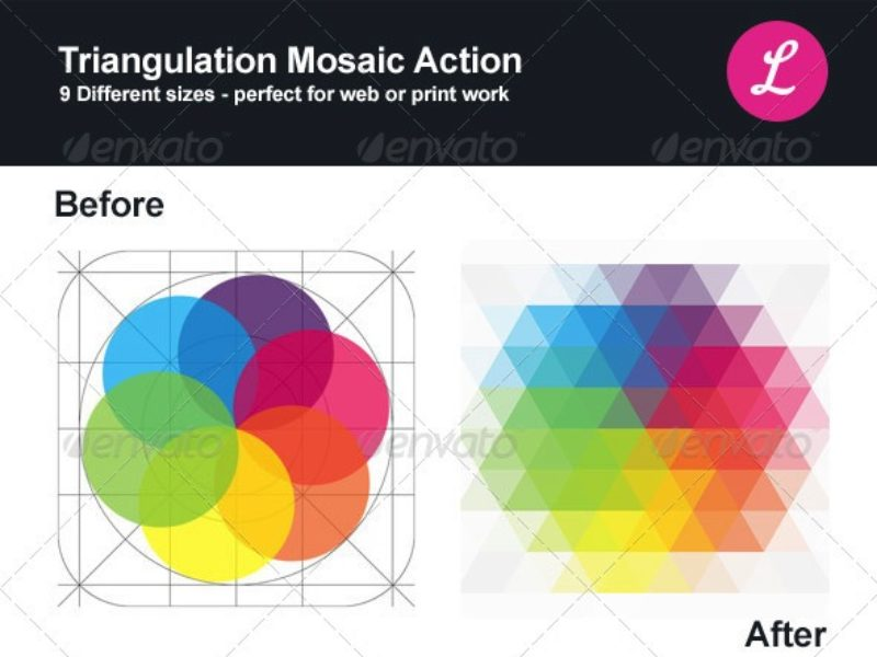 triangulation-mosaic-photoshop-action-preview